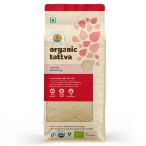 Organic Brown Suji 500g