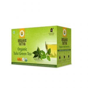 Organic Tulsi Green Tea 40g