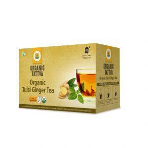 Organic Tulsi Ginger Tea 40g