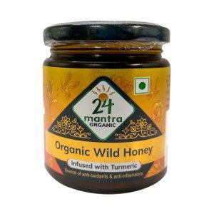 HONEY WITH TURMERIC INFUSION 250 GMS